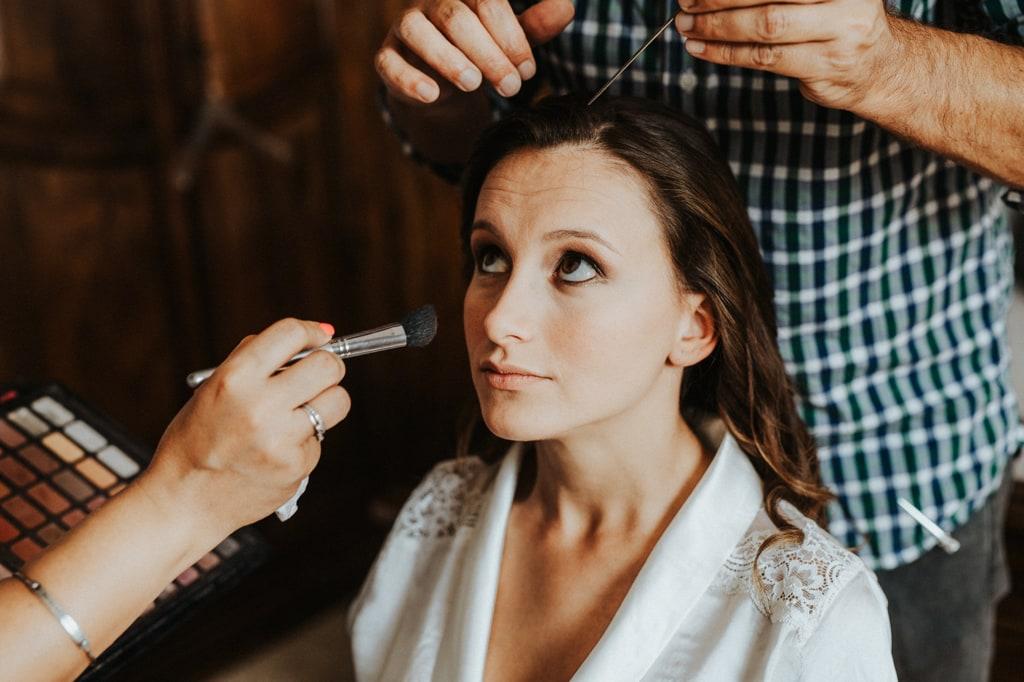 make up matrimonio villa bernardini lucca