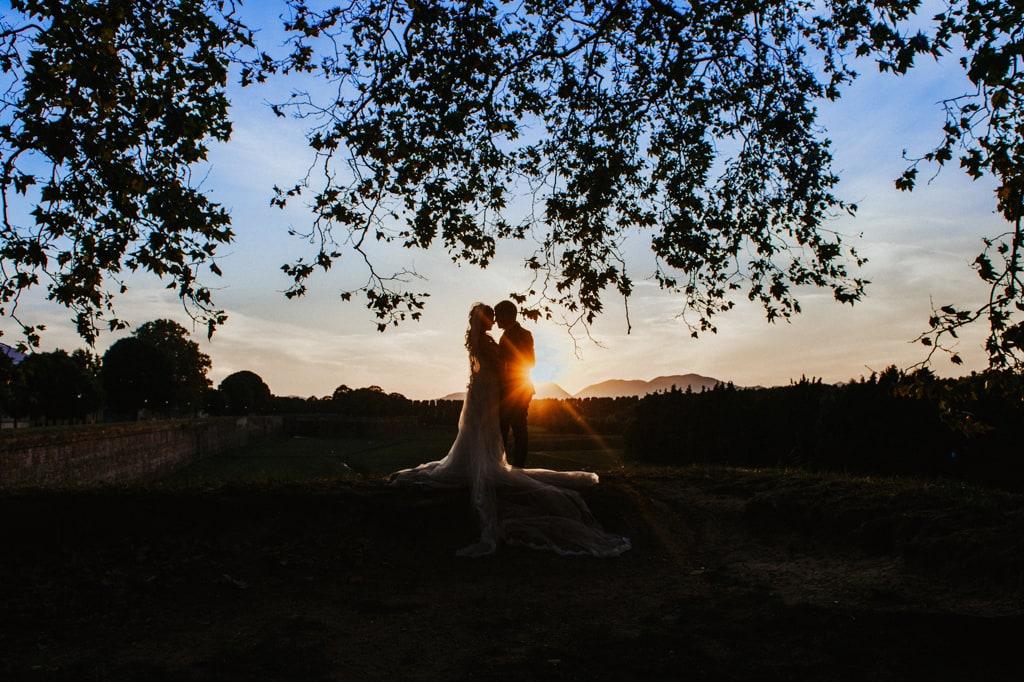 matrimonio romantico villa bernardini lucca
