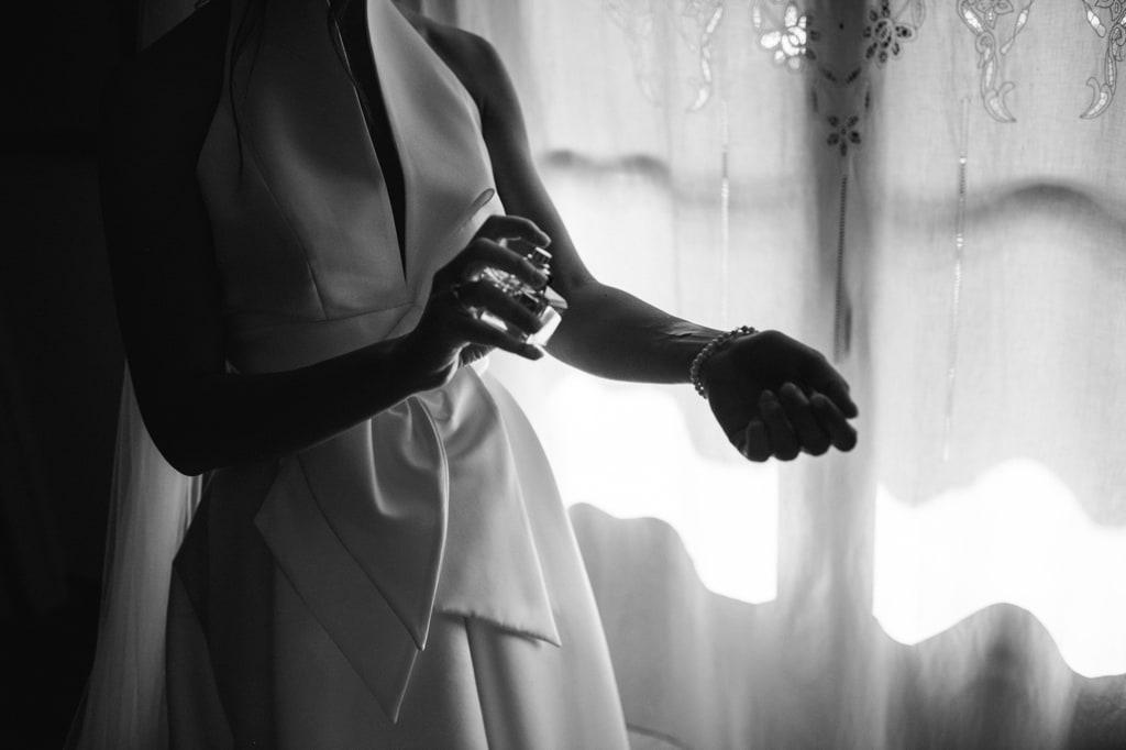 preparazione sposa villa bernardini lucca